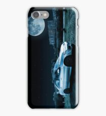 Evo 7 and Castle by Moonlight iPhone Case/Skin