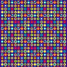 Poke-A-Dots - Indigo [iPhone case] by Didi Bingham