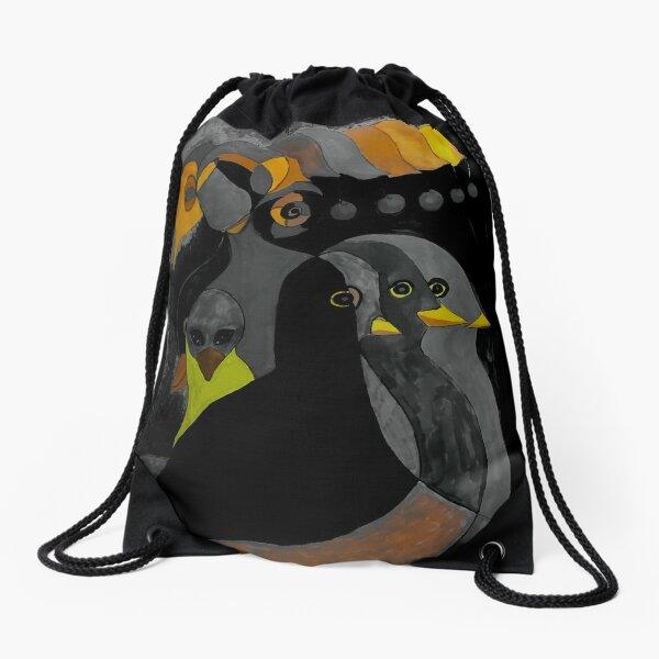 Streaming Consciousness Drawstring Bag