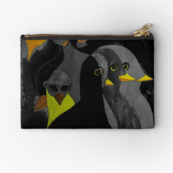 Streaming Consciousness Zipper Pouch