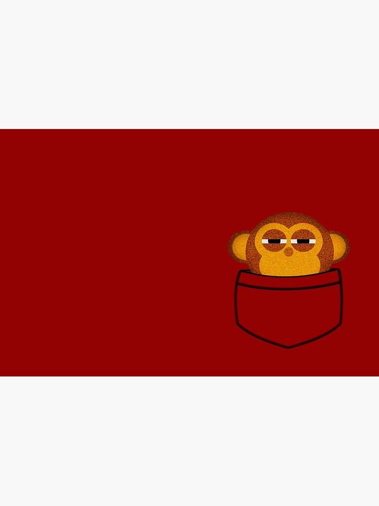 Pocket monkey is highly suspicious by jaxxx