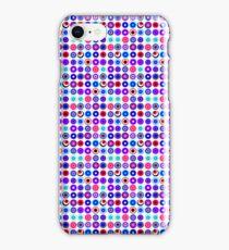 Poke-A-Dots - Purple Negative [iPhone case] iPhone Case/Skin