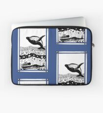 Having a Whale of a Time Laptop Sleeve