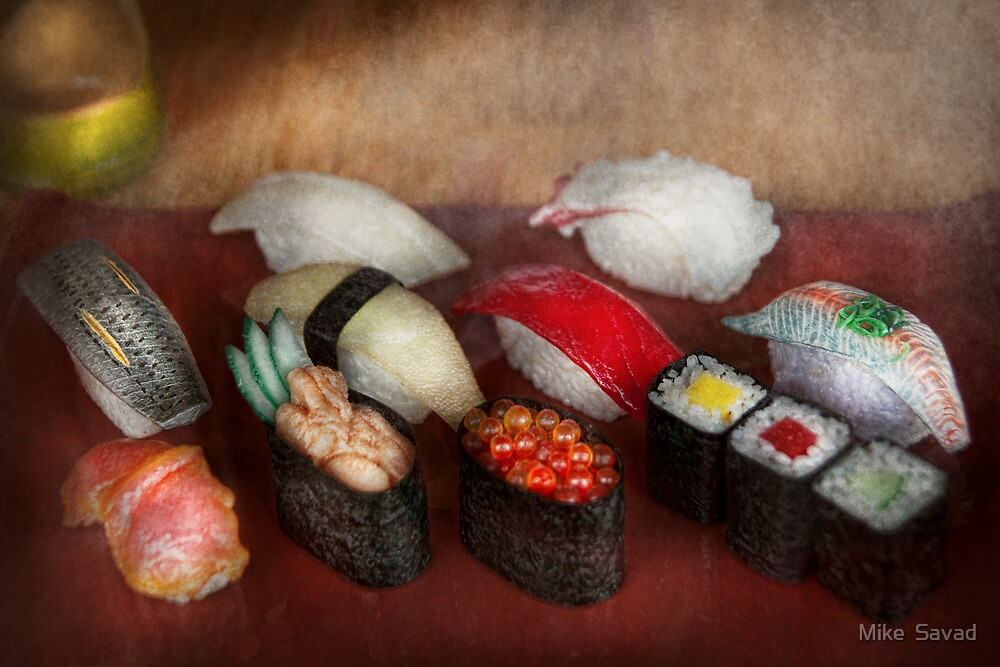 Chef - Food - Oh, I had sushi last night  by Michael Savad