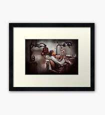 Dentist - Waiting for the Dentist Framed Print