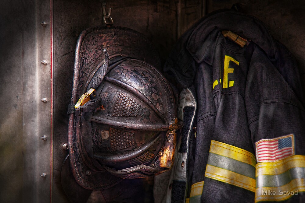 Fireman - Worn and used by Michael Savad