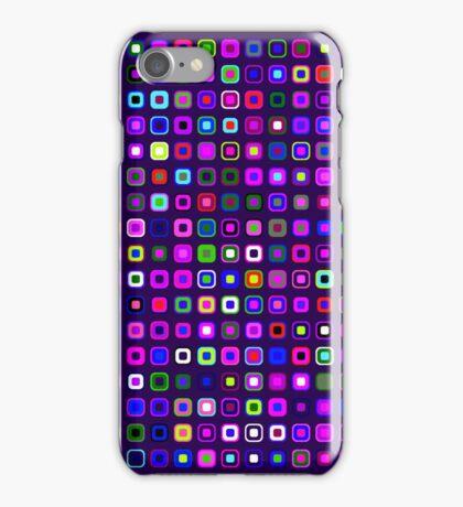 Retro Squares - Indigo [iPhone case] iPhone Case/Skin