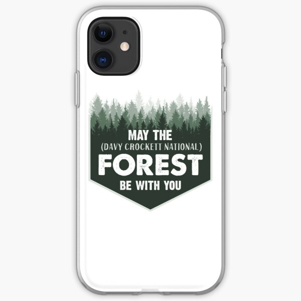 Davy Crockett National Forest shirt (YYY) iPhone Soft Case