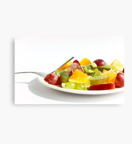 Mixed Fruit Salad Canvas Print