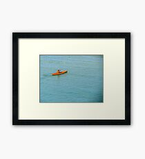 Sport d'Hiver Framed Print