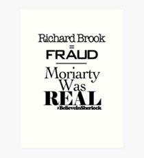 Richard Brook Is A Fraud Art Print
