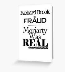 Richard Brook Is A Fraud Greeting Card