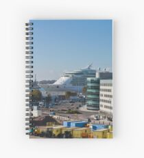 Independence of the Seas in Southampton Spiral Notebook
