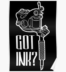 Tätowiermaschine Poster