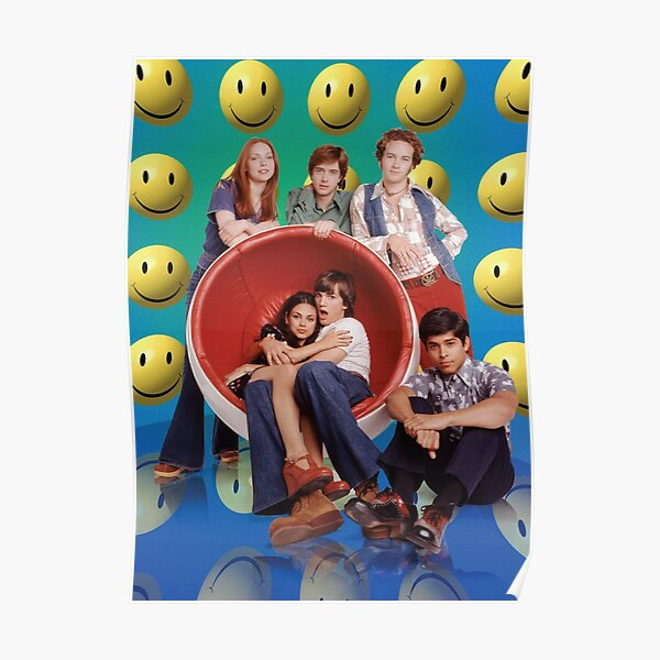 That 70s Show Smiley Promo Poster Poster