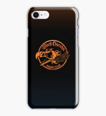 Black Chocobo Riders Club iPhone Case/Skin