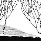 Striped Trees by Aleksandra Kabakova