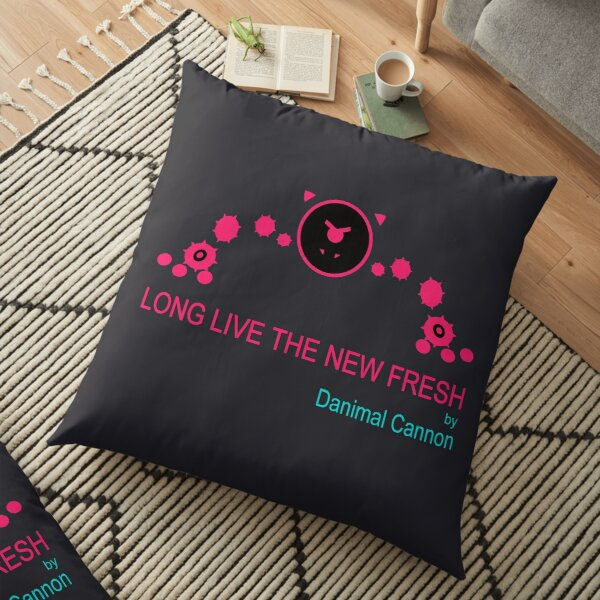 Just Shapes and Beats: Long Live The New Fresh Floor Pillow