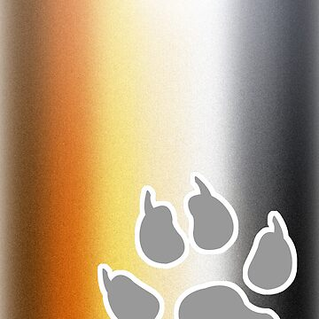 Glitter Bear by vinylsoda89
