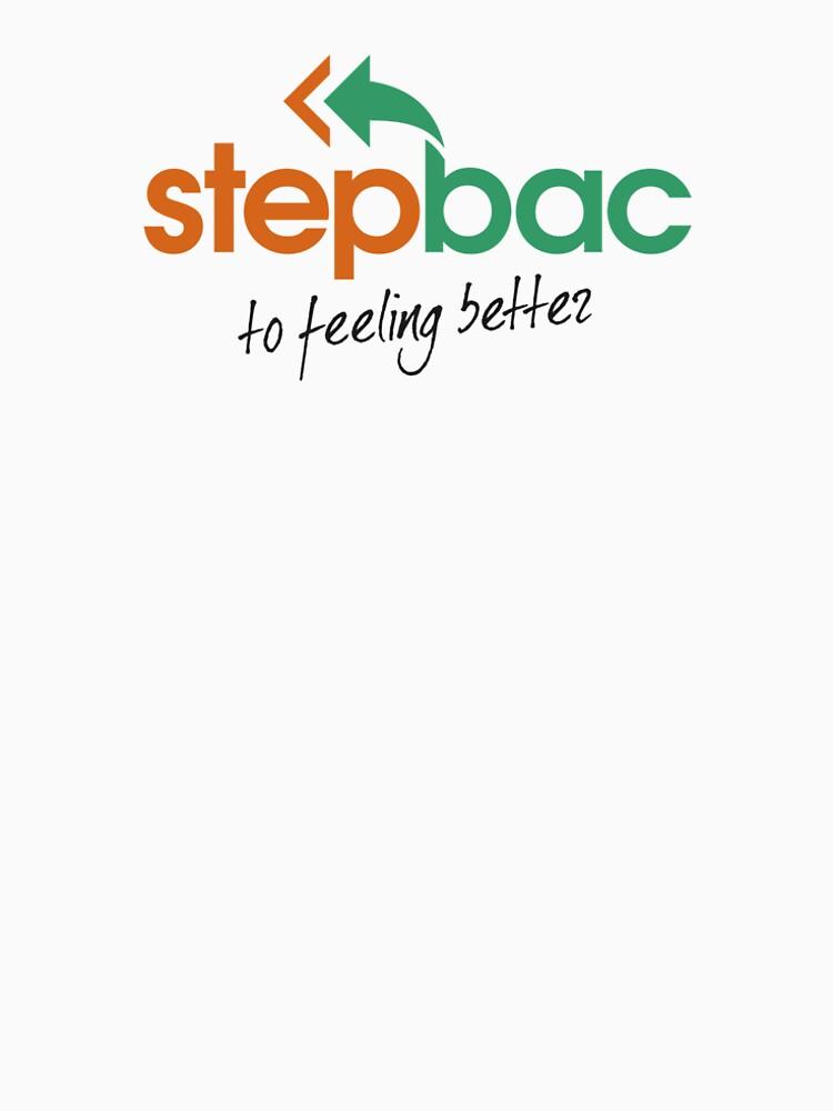 Stepbac to feeling better merchandise by Stepbac