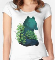 Nature's Embrace Women's Fitted Scoop T-Shirt