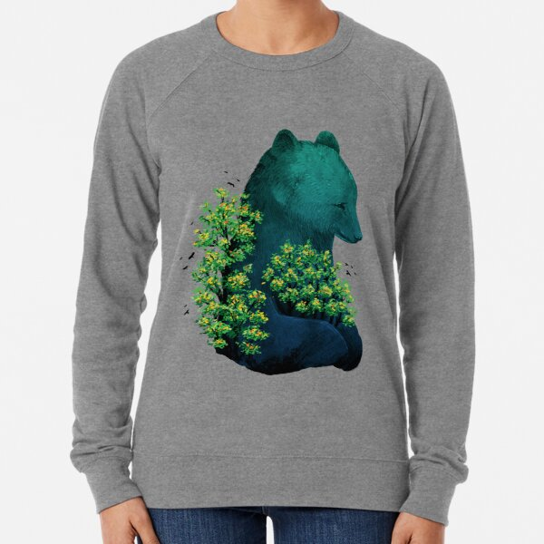 Umarmung der Natur Leichter Pullover
