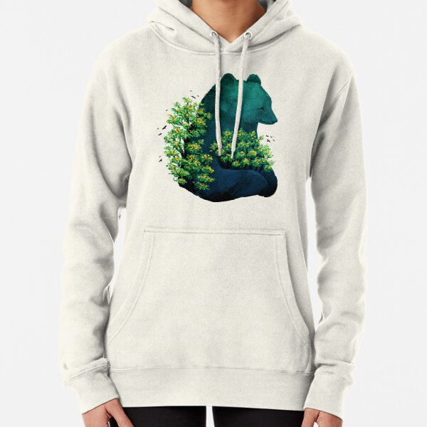 Nature's Embrace Pullover Hoodie