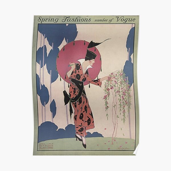 1914 vogue cover Poster