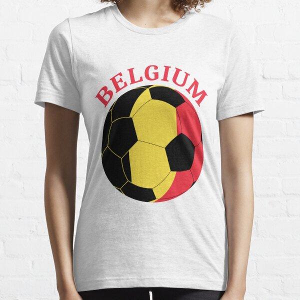 Belgium Football Belgium Gift Sports Essential T-Shirt