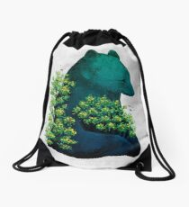 Nature's Embrace Drawstring Bag