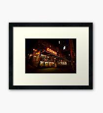 Bright Lights, Big City - Soho - New York City Framed Print