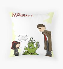 Scalvin and Maulbes Throw Pillow