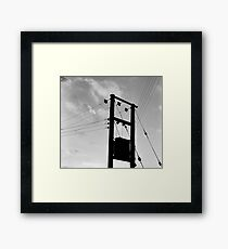 Wired-in Peebles Framed Print