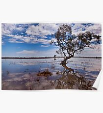 Beauty of the Outback - Wilcannia, NSW Poster