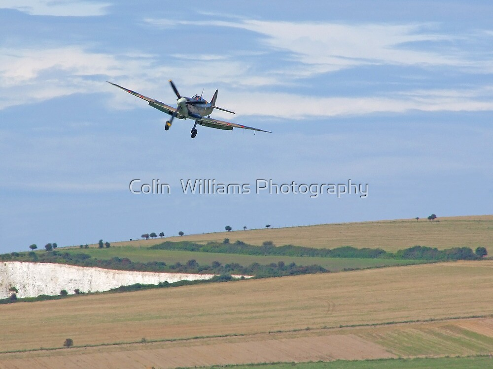 The Spirfire Approach  - Shoreham by Colin  Williams Photography