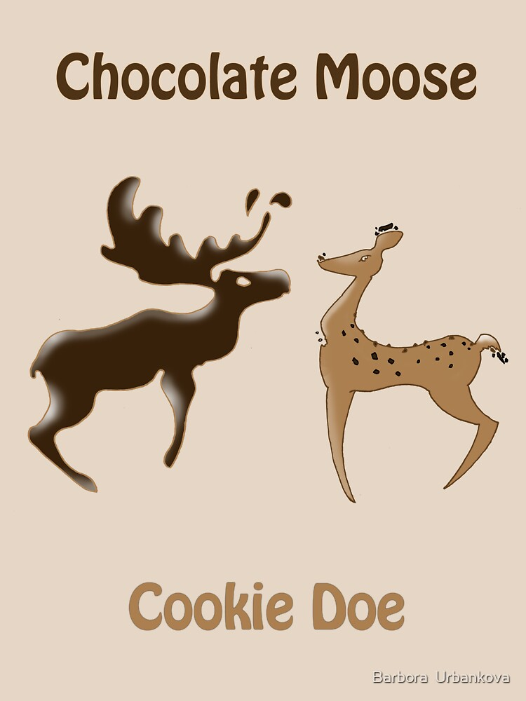 Chocolate Moose, Cookie Doe by BIcicle