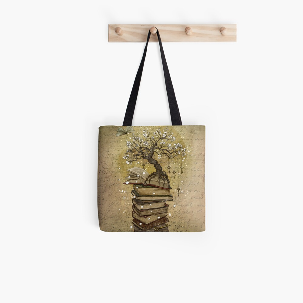 Knowledge is the key Tote Bag