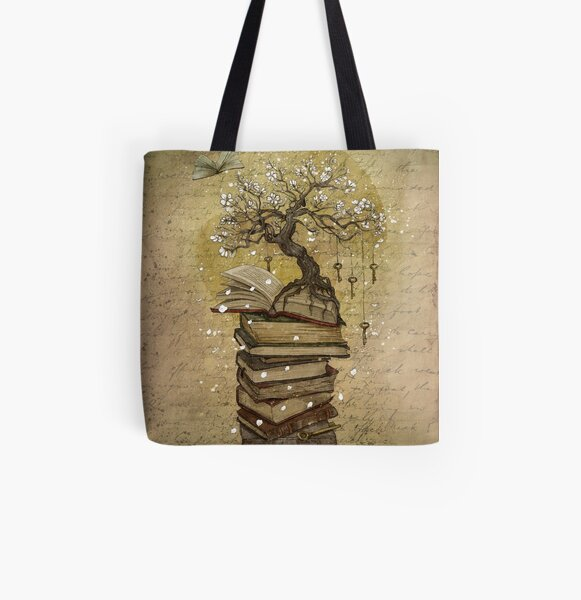 Knowledge is the key All Over Print Tote Bag