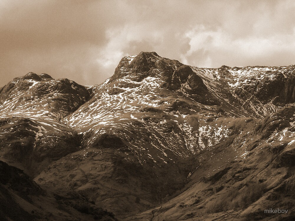 Sepia Pikes by mikebov