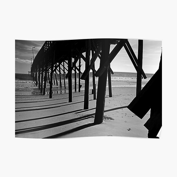 North Topsail Pier Poster