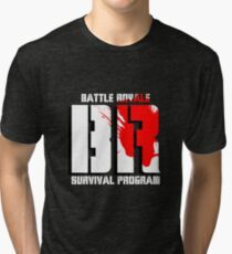Battle Royale Logo Tri-blend T-Shirt