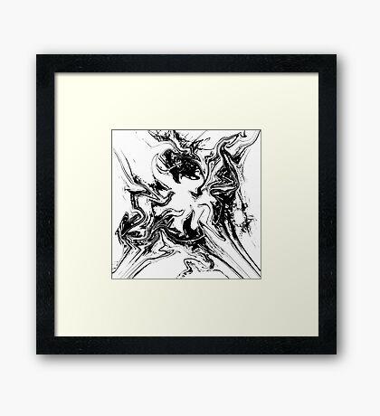 Disintegration Framed Print