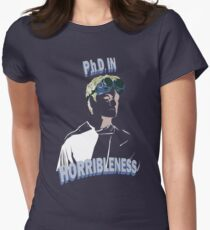 Proof of Horribleness Women's Fitted T-Shirt