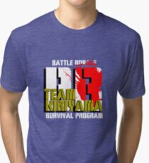 Team Kiriyama (Battle Royale) Tri-blend T-Shirt