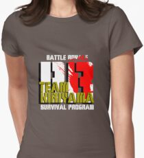 Team Kiriyama (Battle Royale) Womens Fitted T-Shirt