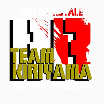 Team Kiriyama (Battle Royale) by AnthonyPipitone