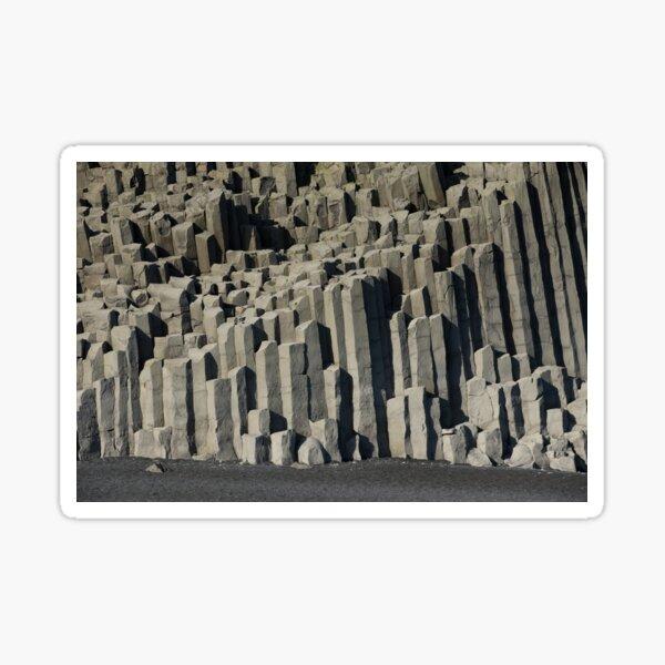 Basalt Coloumn Formations Sticker