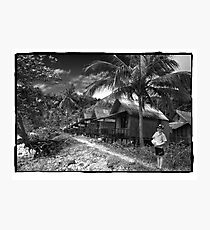 Lonely Beach, Ko Chang, Thailand Photographic Print