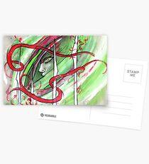 Yonori: Red Ribbons Postcards