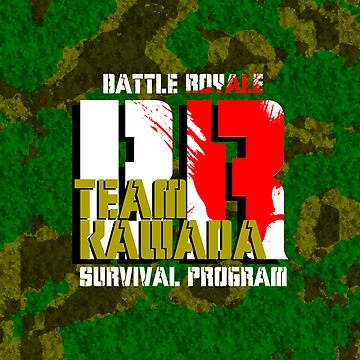 Team Kawada (Battle Royale) by AnthonyPipitone